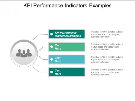 Kpi Performance Indicators Examples Ppt Powerpoint Presentation Outline Slides Cpb