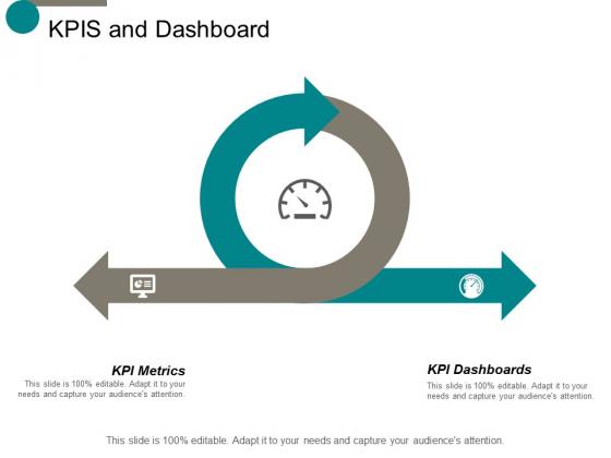 Kpis And Dashboard Ppt Powerpoint Presentation Infographic Template Portfolio