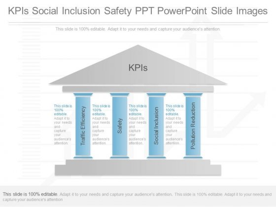 Kpis Social Inclusion Safety Ppt Powerpoint Slide Images