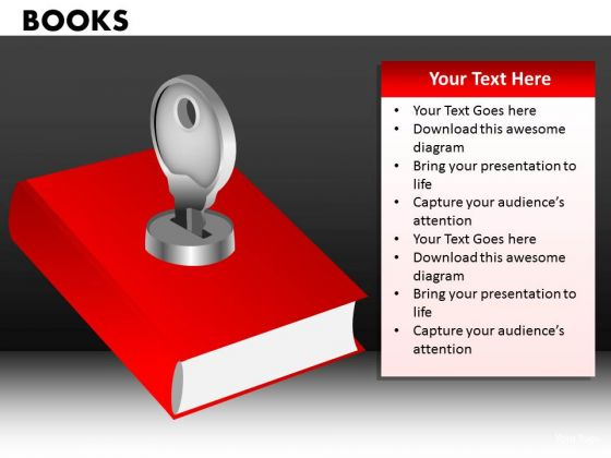 Key To Education Book PowerPoint Ppt Slides