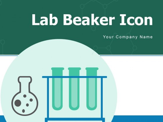 Lab Beaker Icon Technology Chemical Testing Ppt PowerPoint Presentation Complete Deck