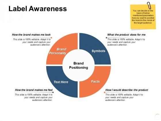 Label Awareness Positioning Ppt PowerPoint Presentation Pictures Graphic Images