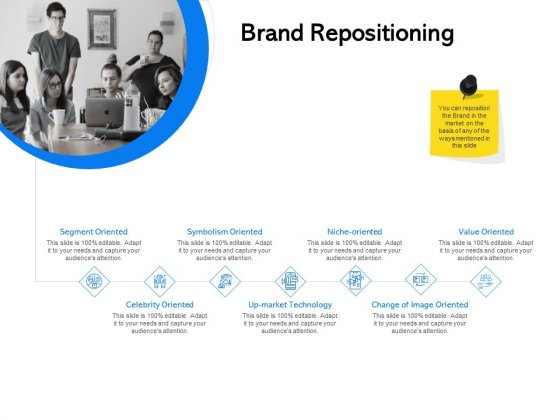 Label Building Initiatives Brand Repositioning Ppt Show Guide PDF