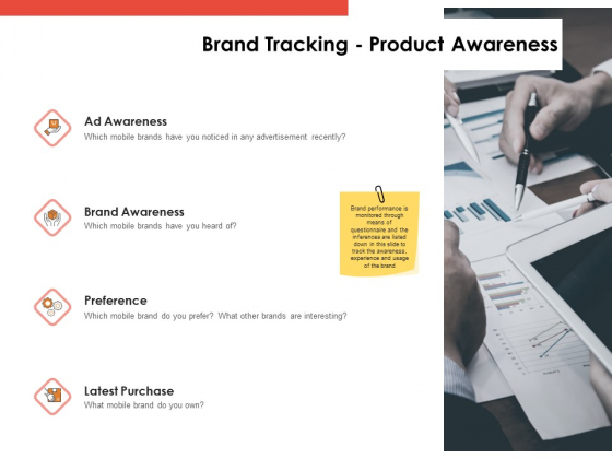 Label Identity Design Brand Tracking Product Awareness Ppt Inspiration Graphic Images PDF