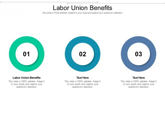 Labor Union Benefits Ppt PowerPoint Presentation Styles Display Cpb Pdf