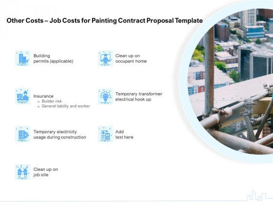 Land Holdings Building Other Costs Job Costs For Painting Contract Proposal Template Information PDF