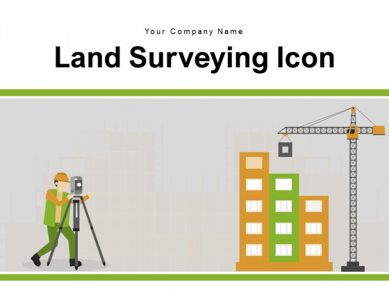 Land Surveying Icon Team Equipment Ppt PowerPoint Presentation Complete Deck