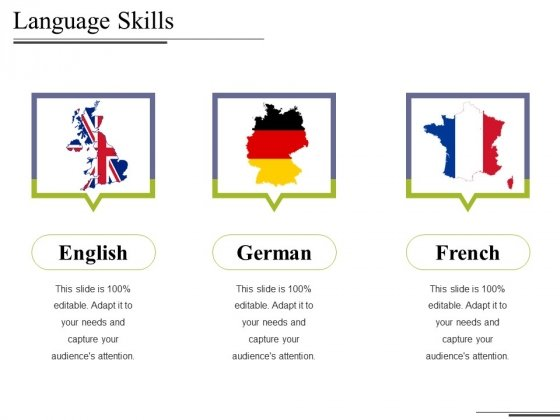 Language Skills Ppt PowerPoint Presentation Inspiration Introduction