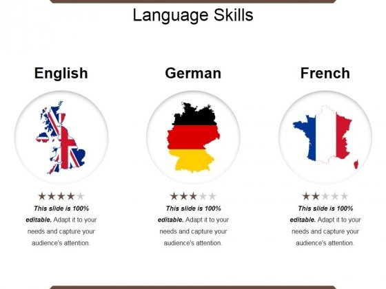 Language Skills Ppt PowerPoint Presentation Pictures Smartart