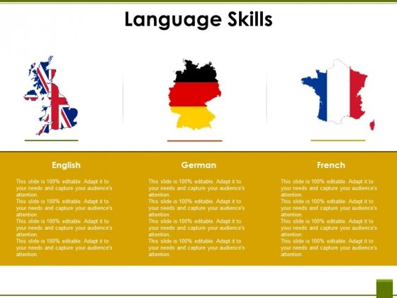 Language Skills Ppt PowerPoint Presentation Professional Design Ideas