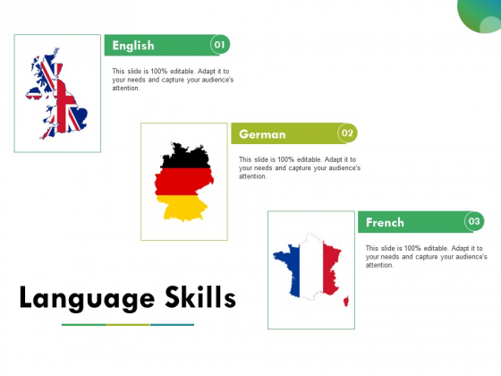 Language Skills Ppt PowerPoint Presentation Summary Backgrounds