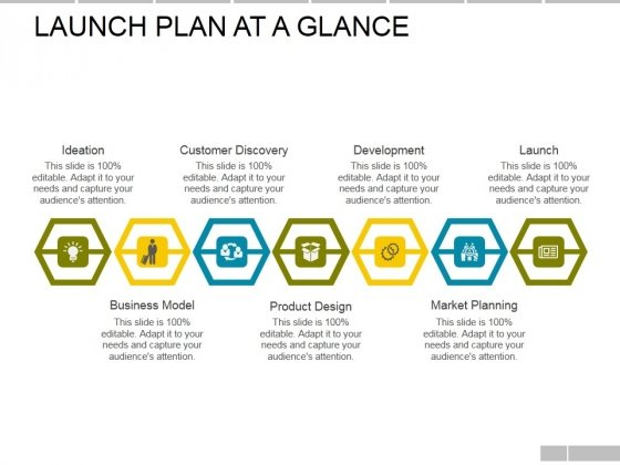 Launch Plan At A Glance Template Ppt PowerPoint Presentation Layouts ...