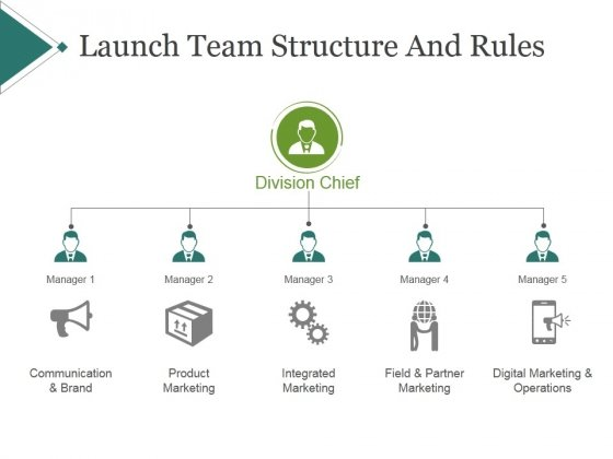 Launch Team Structure And Rules Ppt PowerPoint Presentation Portfolio