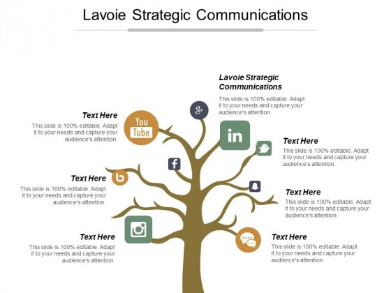 Lavoie Strategic Communications Ppt Powerpoint Presentation Summary Show Cpb