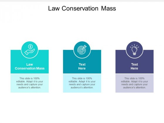 Law Conservation Mass Ppt PowerPoint Presentation Infographic Template Graphics Example Cpb Pdf