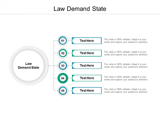 Law Demand State Ppt PowerPoint Presentation Outline Picture Cpb