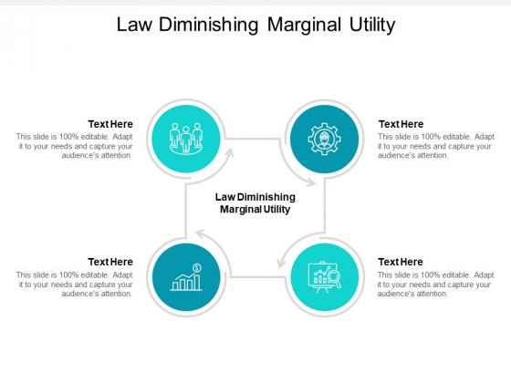 Law Diminishing Marginal Utility Ppt PowerPoint Presentation Portfolio Format Cpb Pdf