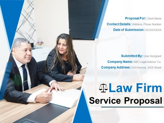 Law Firm Service Proposal Ppt PowerPoint Presentation Complete Deck With Slides