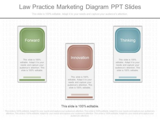 Law Practice Marketing Diagram Ppt Slides