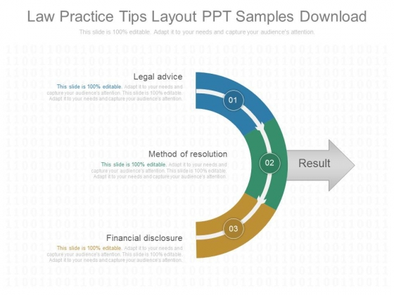 Law Practice Tips Layout Ppt Samples Download