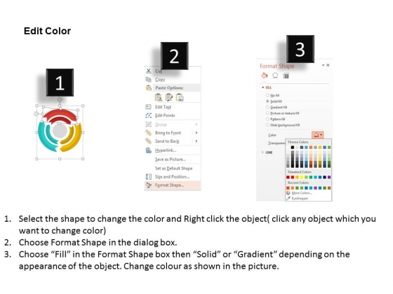 Layout_Of_Colorful_Circular_Arrows_Powerpoint_Template_3