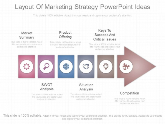Layout Of Marketing Strategy Powerpoint Ideas