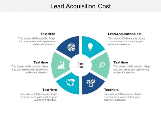 Lead Acquisition Cost Ppt PowerPoint Presentation Professional Deck Cpb