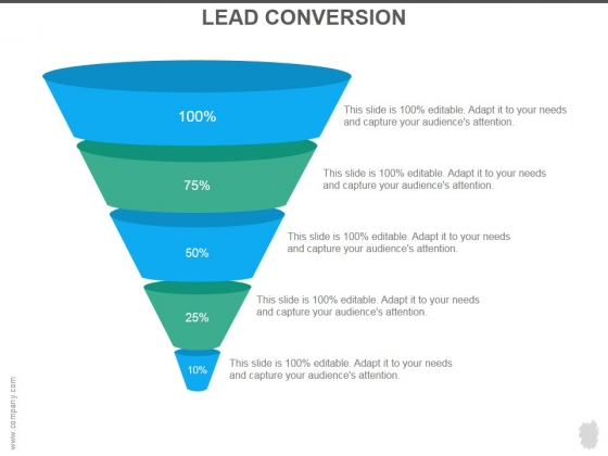 Lead Conversion Ppt PowerPoint Presentation Example