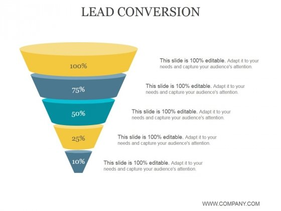 Lead Conversion Ppt PowerPoint Presentation Themes