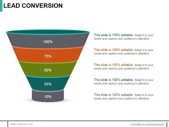 Lead Conversion Template 1 Ppt PowerPoint Presentation Styles Infographics