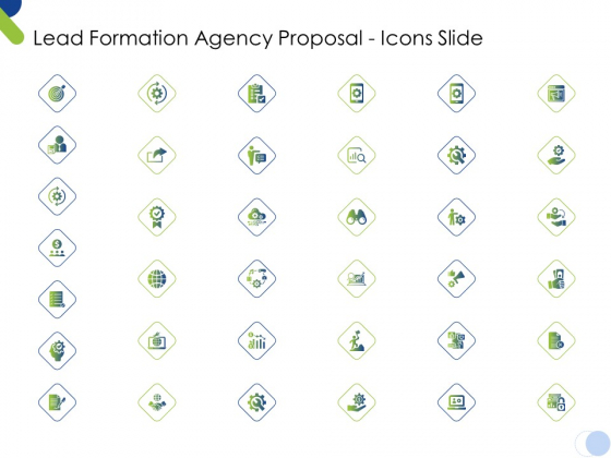 Lead Formation Agency Proposal Icons Slide Ppt Summary Slide Download PDF