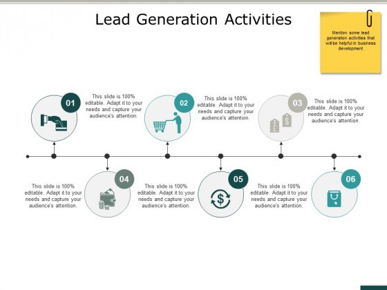 Lead Generation Activities Ppt PowerPoint Presentation Gallery Guidelines
