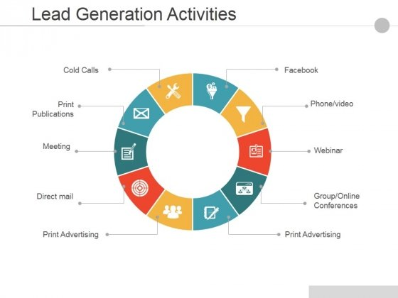 Lead Generation Activities Ppt PowerPoint Presentation Styles Information