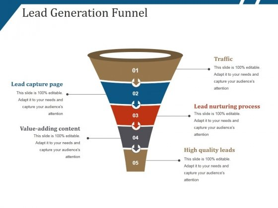 Lead Generation Funnel Ppt PowerPoint Presentation Infographics Background