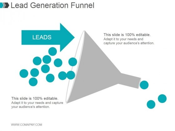 Lead Generation Funnel Ppt PowerPoint Presentation Outline