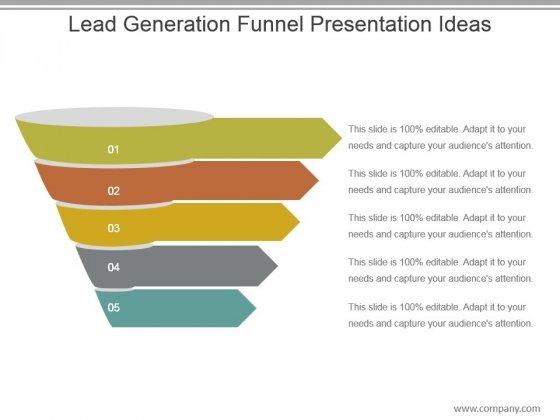 Lead Generation Funnel Presentation Ideas