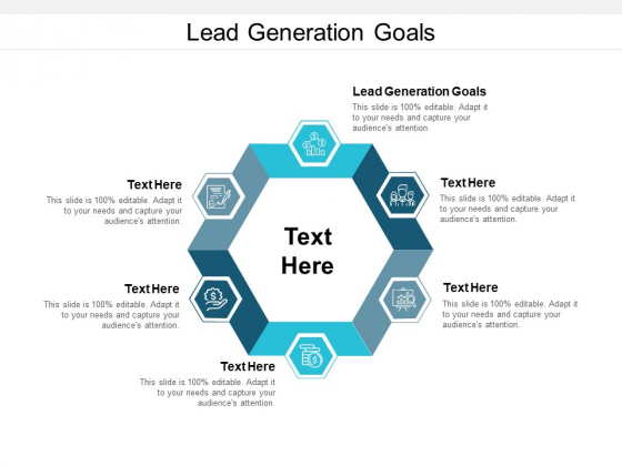 Lead Generation Goals Ppt PowerPoint Presentation Pictures Cpb