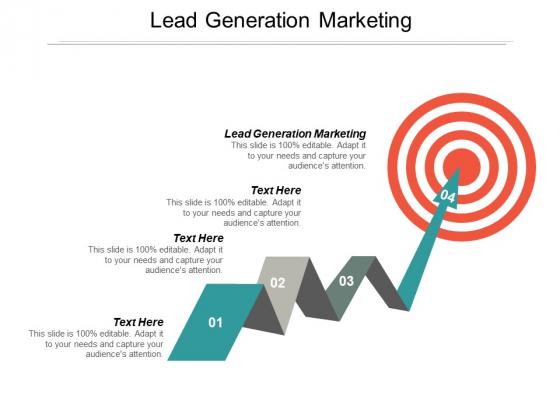 Lead Generation Marketing Ppt PowerPoint Presentation Portfolio Deck Cpb