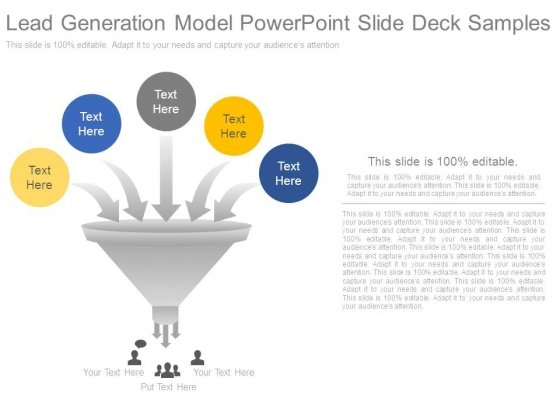 Lead Generation Model Powerpoint Slide Deck Samples