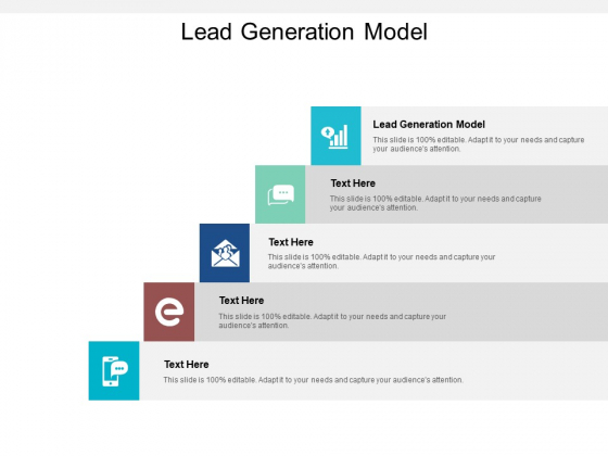 Lead Generation Model Ppt PowerPoint Presentation File