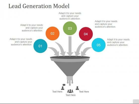 lead generation model ppt powerpoint presentation icon vector