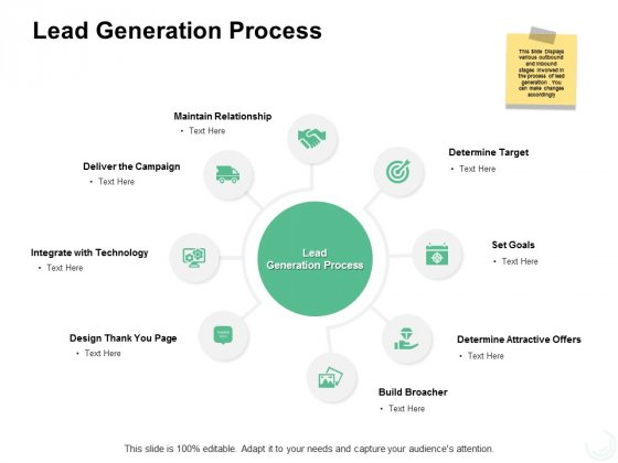 Lead Generation Process Ppt PowerPoint Presentation Icon Display