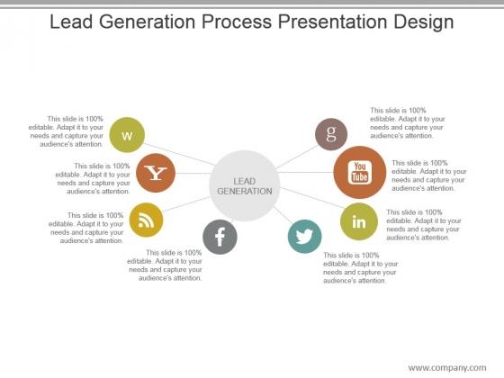 Lead Generation Process Presentation Design
