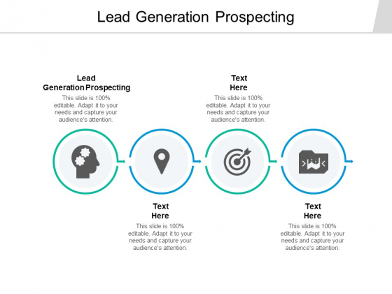 Lead Generation Prospecting Ppt PowerPoint Presentation Icon Infographic Template Cpb