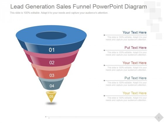 Lead Generation Sales Funnel Ppt PowerPoint Presentation Model