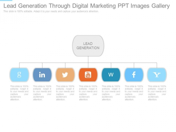 Lead Generation Through Digital Marketing Ppt Images Gallery