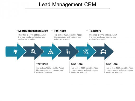 Lead Management CRM Ppt PowerPoint Presentation Ideas Icon Cpb