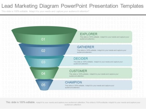 Lead Marketing Diagram Powerpoint Presentation Templates