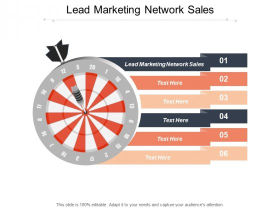 Lead Marketing Network Sales Ppt PowerPoint Presentation Styles Information Cpb