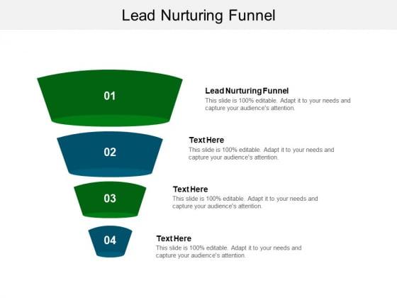 Lead Nurturing Funnel Ppt PowerPoint Presentation Inspiration Topics Cpb Pdf